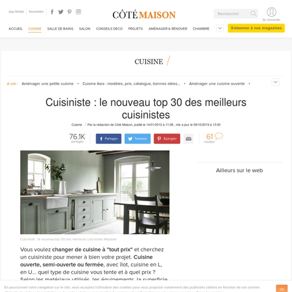 cuisiniste le nouveau top 30 des meilleurs cuisinistes pearltrees. Black Bedroom Furniture Sets. Home Design Ideas