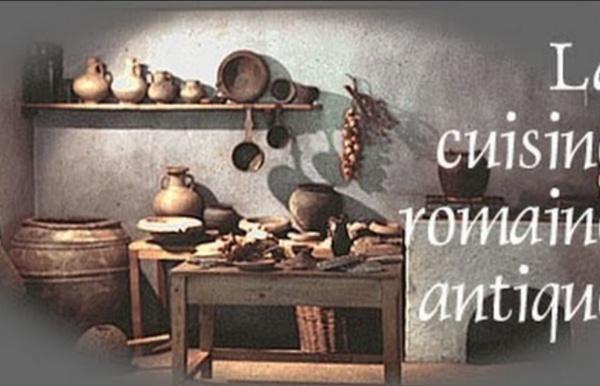La cuisine romaine antique - ANTEAS