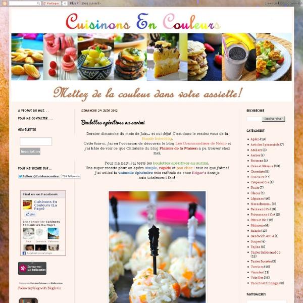 Boulettes apéritives au surimi