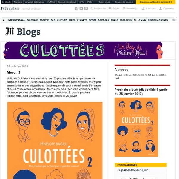Un site utilisant Les blogs Le Monde.fr