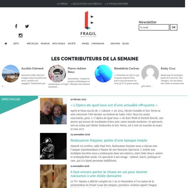 Fragil - Culture, société, initiatives citoyennes