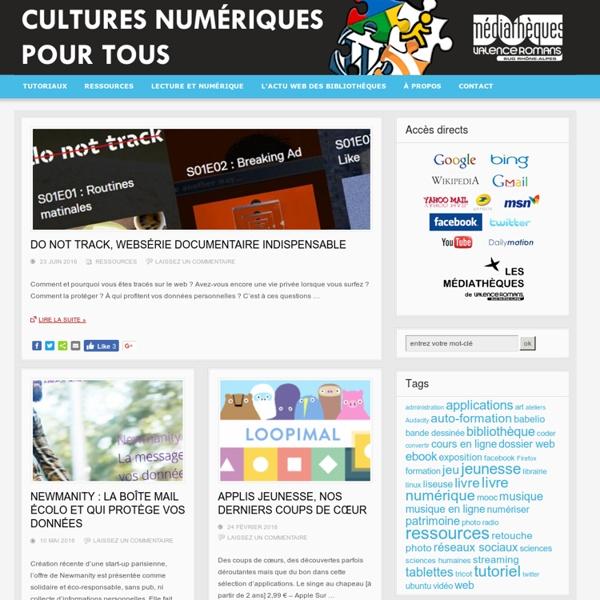 TIC&TOC du web, le blog des bibliothèques valentinoises