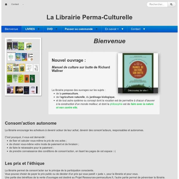 La Librairie Perma-Culturelle