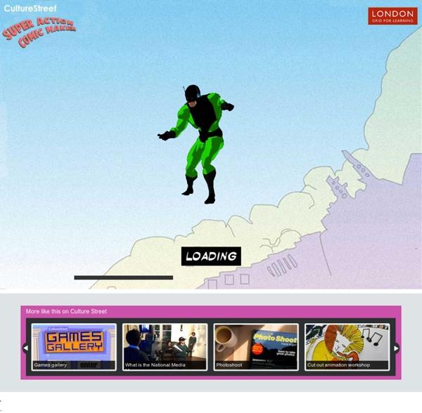 Activities - Super Action Comic Maker