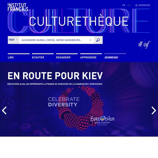 Culturethèque - votre bibliothèque numérique - Culturethèque - Votre Bibliothèque numérique