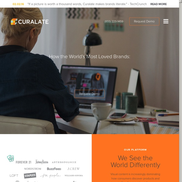 Curalate: Making Social Curation Work for Brands
