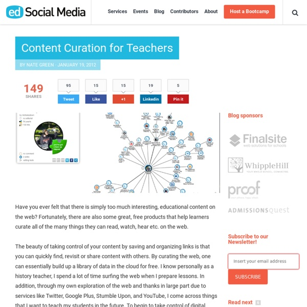Content Curation for Teachers