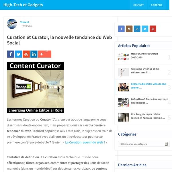 Curation et Curator, la nouvelle tendance du Web Social