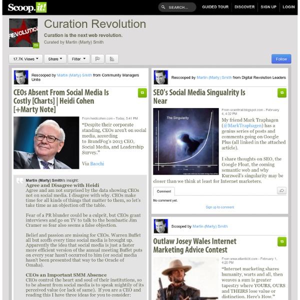 Curation Revolution