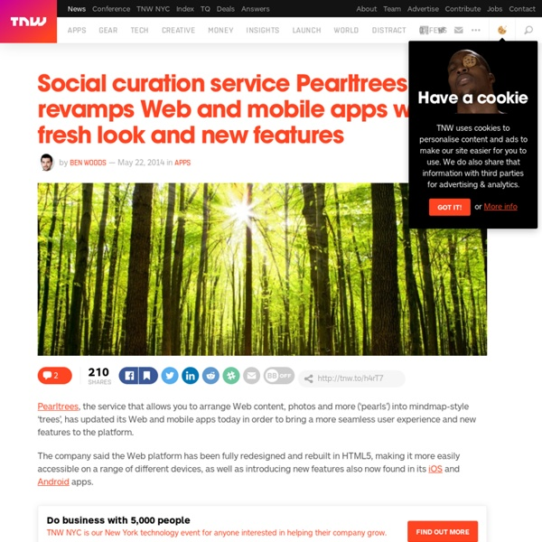 Social Curation Service Pearltrees Revamps Web and Mobile Apps