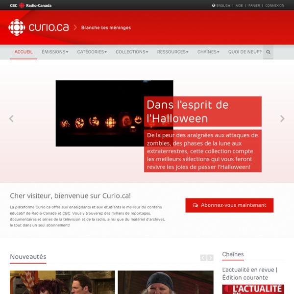 Curio.ca - Home