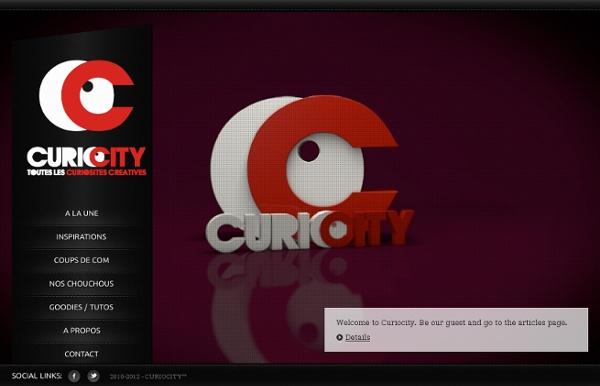 Curiocity - Toutes les curiosités créatives.