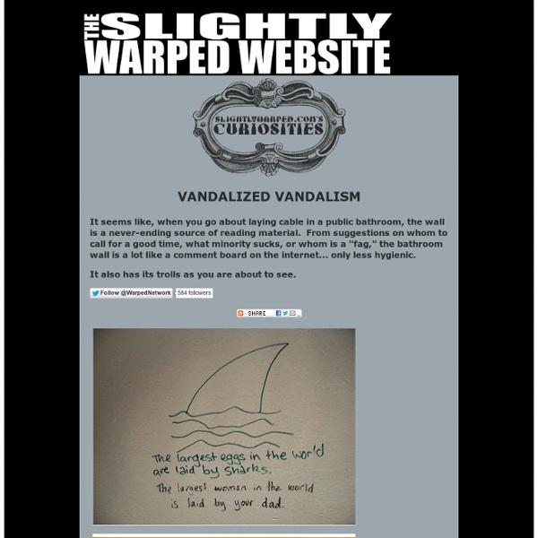 Vandalized Vandalism
