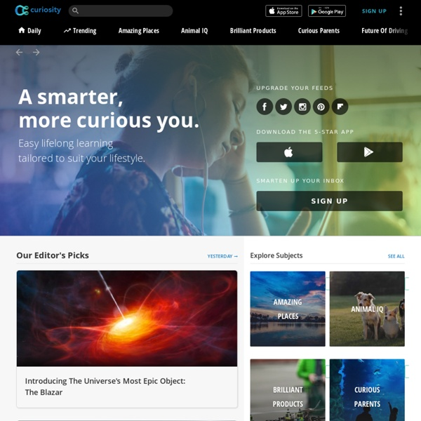 Categories - Explore and Be Inspired