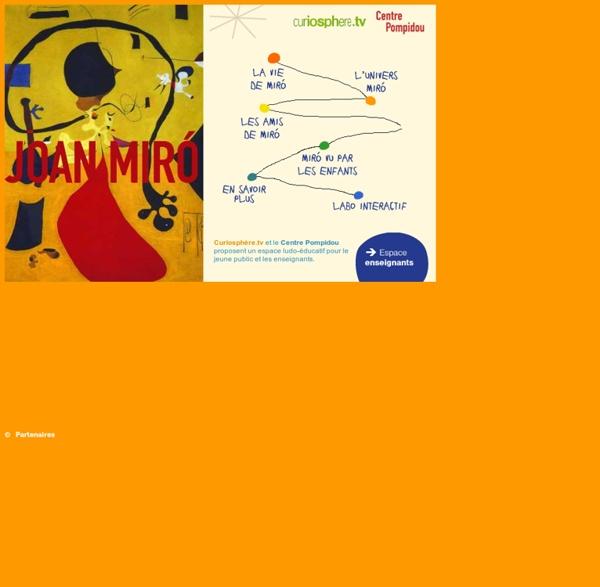 France 5 education joan mir ferra artiste peintre for Artiste peintre catalan