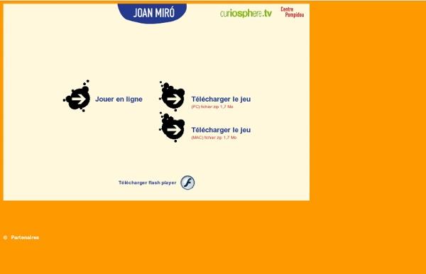 Jouer avec Joan Miró (Jeu à télécharger)