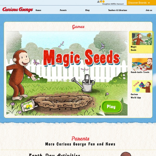 Curious George - Educational Games, Activities & Videos for Kids