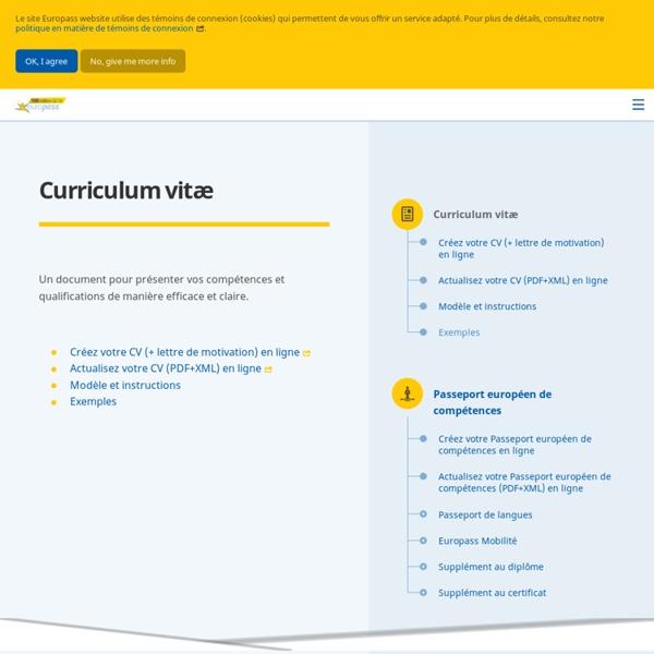curriculum vit u00e6