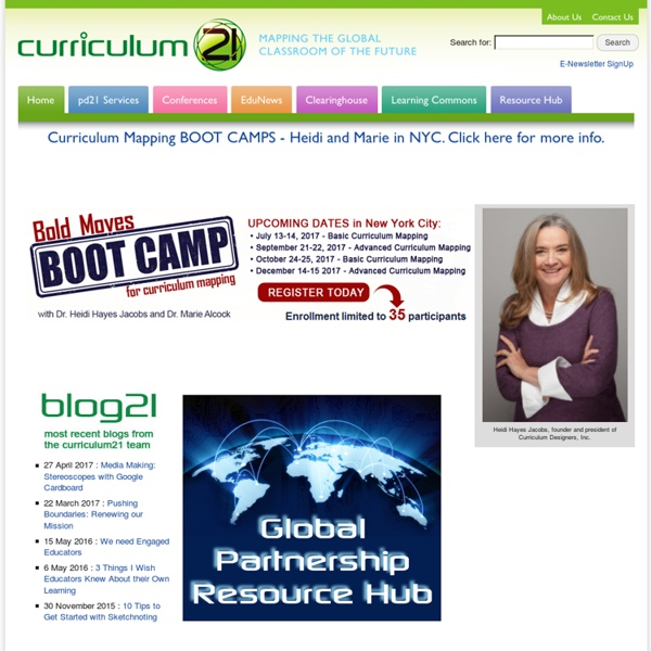 Curriculum 21 - Mapping the Global Classroom of the Future - Cl