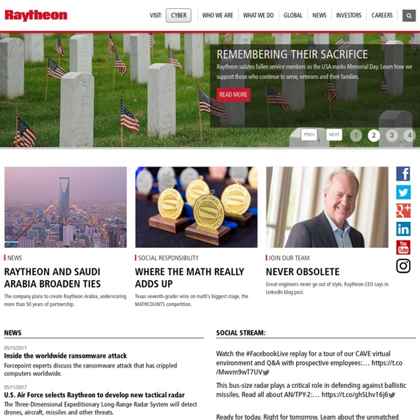 Raytheon Company: Customer Success Is Our Mission