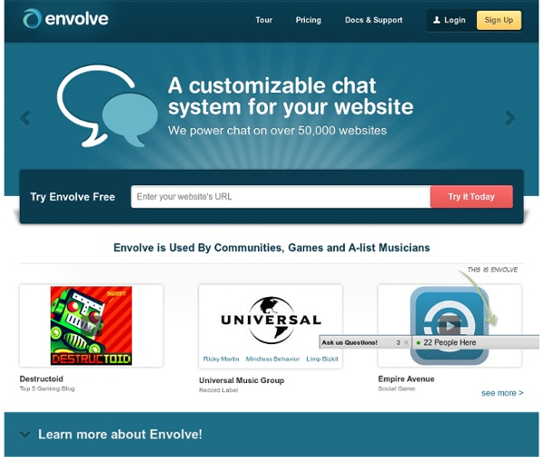 The World's Most Customizable Online Chat Software - Envolve