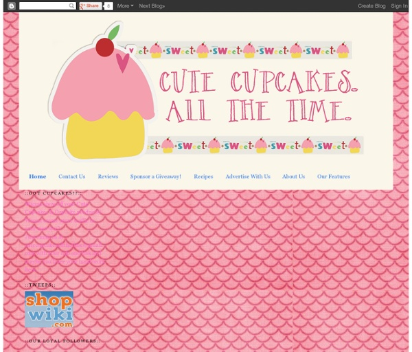 Cute Cupcakes. All The Time.