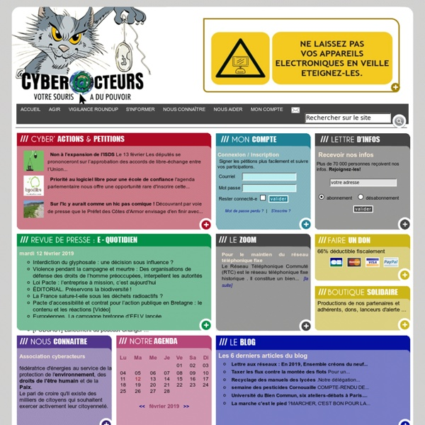 Cyberacteurs