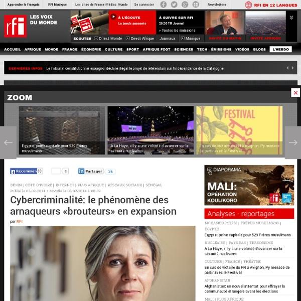 Cybercriminalité: le phénomène des arnaqueurs «brouteurs» en expansion