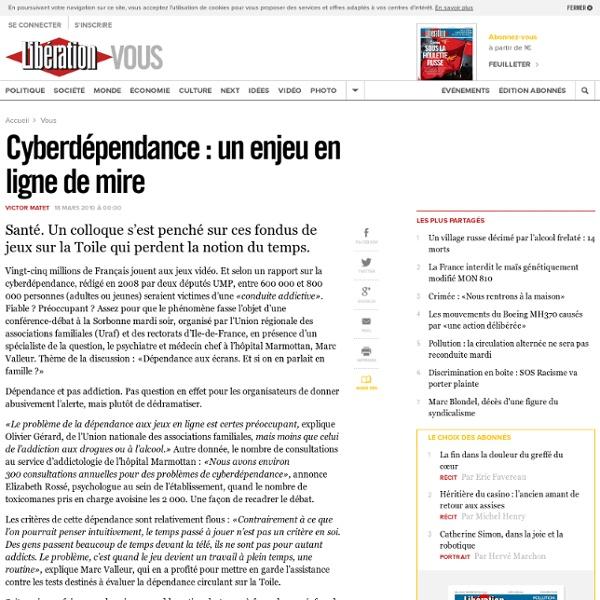 Cyberdépendance : un enjeu en ligne de mire