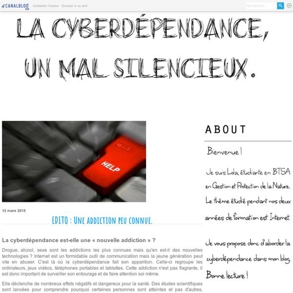 La cyberdépendence, un mal silencieux.