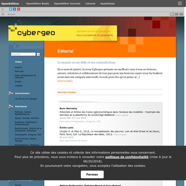 Cybergeo