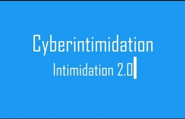 Cyberintimidation : intimidation 2.0
