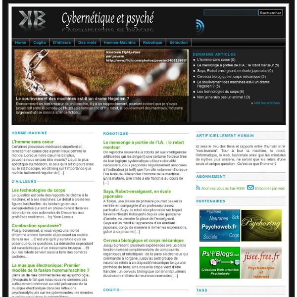 Cybernetique et psyche