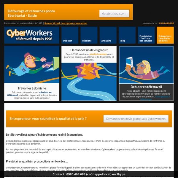 Cyberworkers.com, télétravail depuis 1996