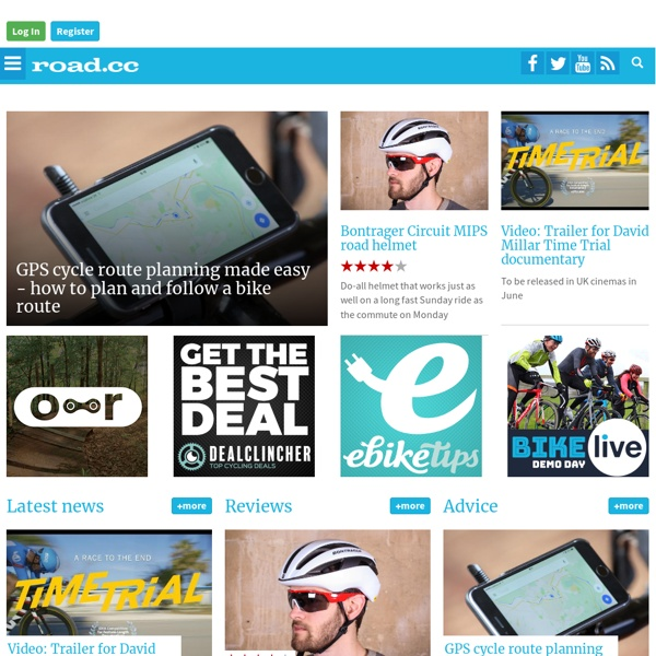 The website for pedal powered people: Road cycling, commuting, leisure cycling and racing