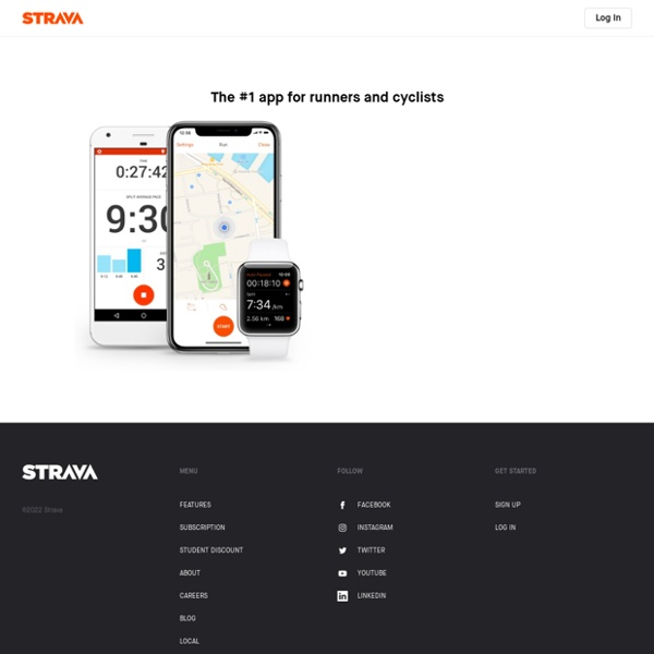 Running and Cycling GPS Tracker, Performance Analytics, Maps, Clubs and Competition