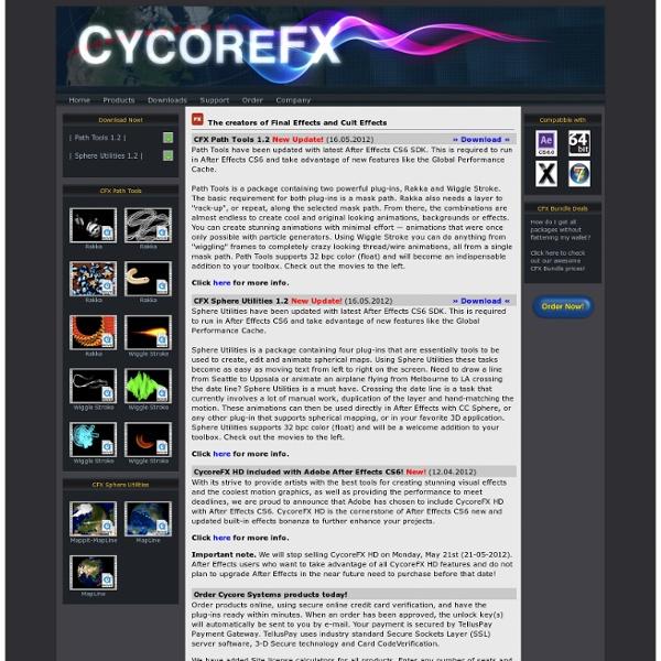 Cycore Effects