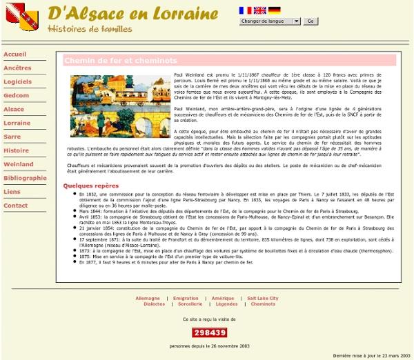 D'Alsace en Lorraine