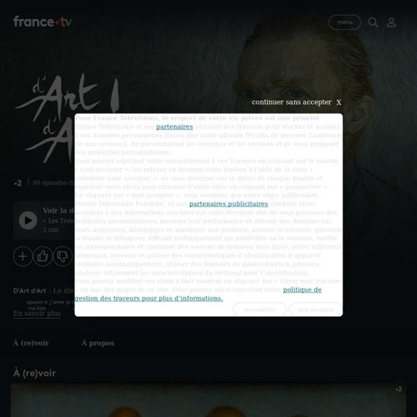 D'art d'art ! - Replay et vidéos en streaming - France tv
