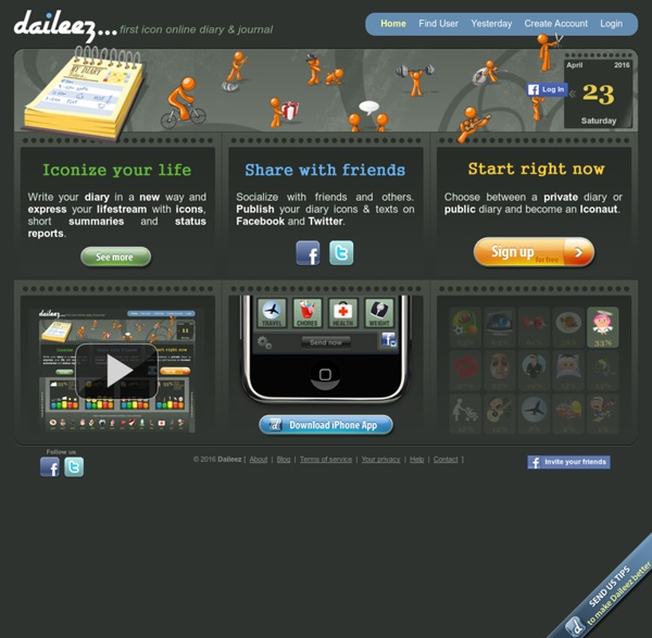 Daileez - First Icon Online Diary & Private Diary & Online Journal