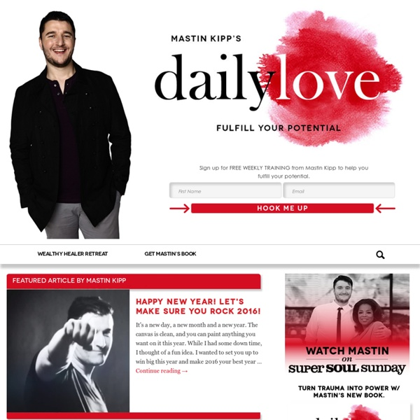 The Daily Love — A place to Love and be Loved