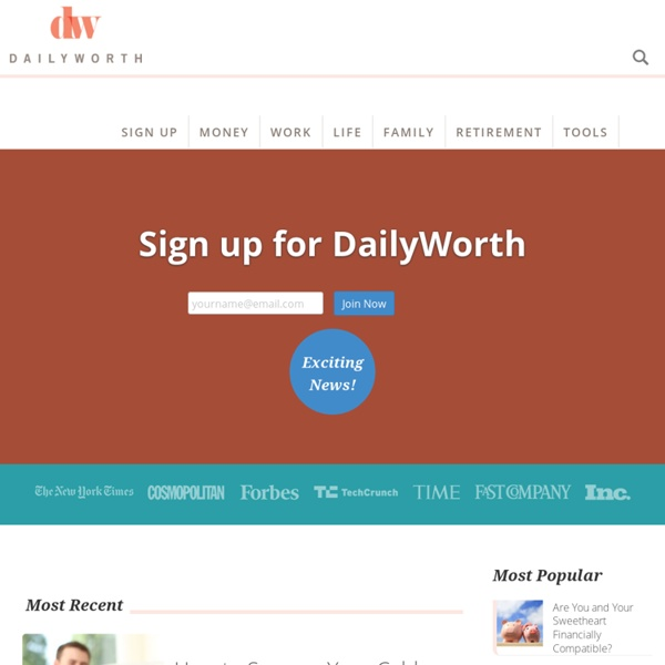 DailyWorth - Financial and Career Advice for Women