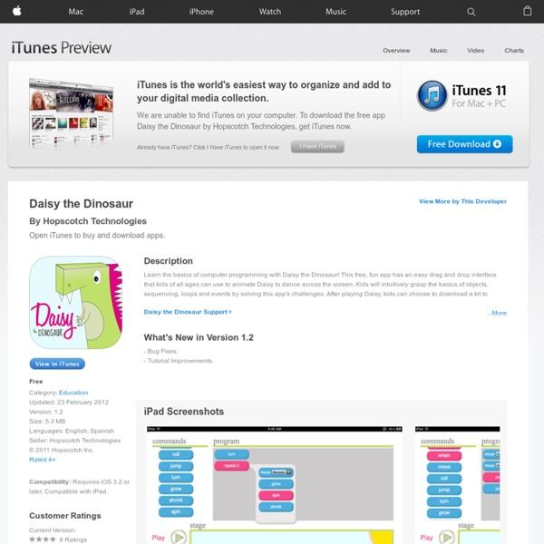 Daisy the Dinosaur on the App Store