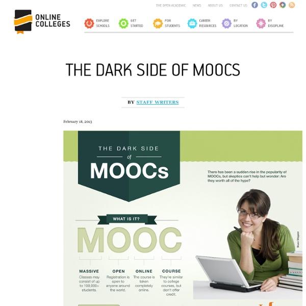 The Dark Side of MOOCs