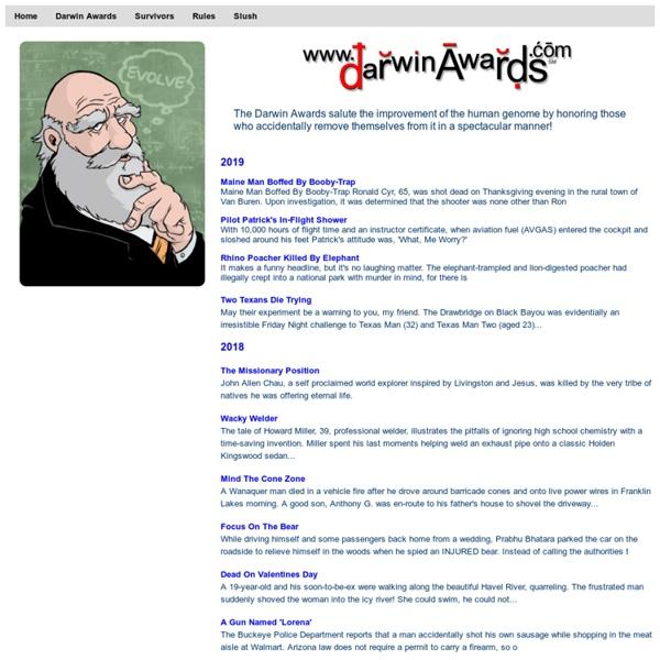 Darwin Awards: Darwin Awards
