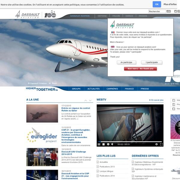 Dassault Aviation, acteur majeur de l'industrie aéronautique mondiale