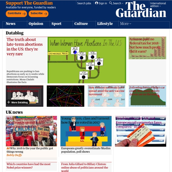 The Guardian Datablog