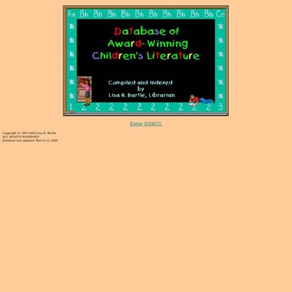 Database of Award-Winning Children's Literature