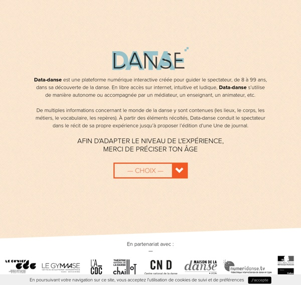 DataDanse – La danse ici et maintenant