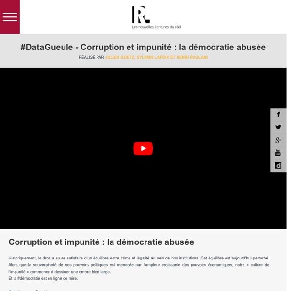 DATAGUEULE : la websérie FranceInfo TV qui décape l'actualité avec des chiffres